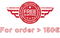 Free Shipping more than 150€