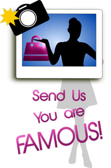 Send your picture, be famous and receive a coupon code